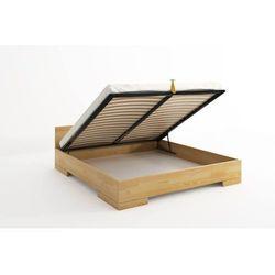 Łóżko drewniane sosnowe ze skrzynią na pościel SPECTRUM Maxi & ST 120-200x200, SC-0031