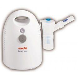 Inhalator MEDEL FAMILY PLUS z nebulizatorem aktywowanym wdechem