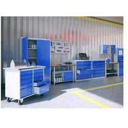 Metalowy stół warsztatowy roboczy stw111 600mm marki Malow