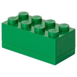 Room copenhagen Mini pojemnik lego 8 zielony - lego pojemniki