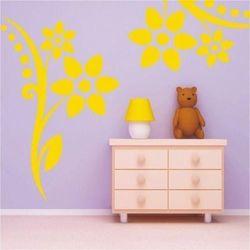 Wally - piękno dekoracji Szablon malarski kwiaty 055