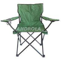Krzesło turystyczne wędkarskie zielone