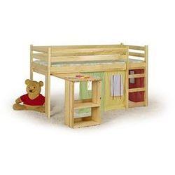 """Łóżko dziecięce """"Florek"""" - piętrowe z biurkiem"""