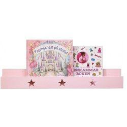 Półka ścienna KIDS CONCEPT 122189 Gwiazdki Różowy + DARMOWY TRANSPORT! - produkt z kategorii- Regały i półki