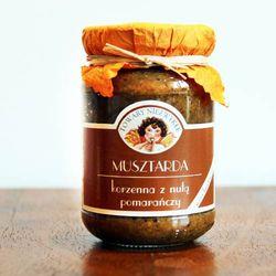 Towary niezwykłe Musztarda korzenna z nutą pomarańczy