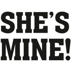 Naklejki na buty She's mine!, 1op. Ślub, Wesele.