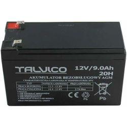 Akumulator żelowy AGM 12V 9Ah TALVICO (zasilacz do obudowy)