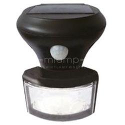 Zewnętrzna LAMPA solarna PIR 307729 Polux elewacyjna LAMPA ścienna LED 5W z czujnikiem zmierzchowo ruchowym