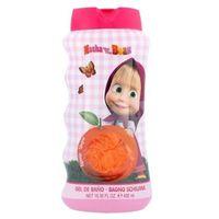 Disney Masha and The Bear U Kosmetyki Zestaw kosmetyków Żel pod prysznic 450 ml + Gąbka