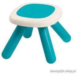 Taboret dla dzieci w kolorze niebieskim marki Smoby
