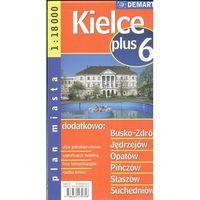 Kielce + 6. Plan miasta 1:18 000 (2012)