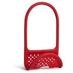 - uchwyt na akcesoria do mycia sling - czerwony - czerwony marki Umbra
