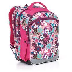 Plecak szkolny  chi 845 h - pink od producenta Topgal