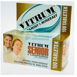 Vitrum Senior z Likopenem - produkt farmaceutyczny