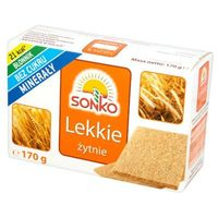 170g pieczywo lekkie żytnie marki Sonko