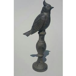 Moodgood Ptaszek żeliwny ozdoba ogrodowa 36 cm