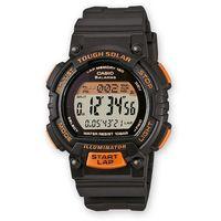 Casio STL-S300H-1BEF Czarny, Pomarańczowy zegarek sportowy