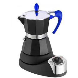 G.a.t. kawiarka elektryczna 9issima 4 filiżanki 4tz niebieska