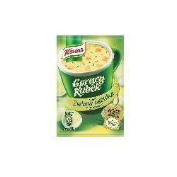 Gorący Kubek Zupa o smaku zielonej cebulki z grzankami 16 g Knorr (danie gotowe)