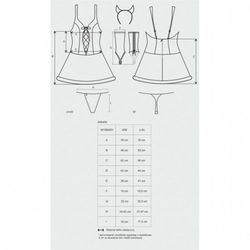 Diabella kostium 4-częściowy L/XL - sprawdź w wybranym sklepie
