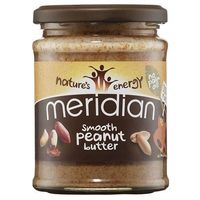 Meridian Natural Peanut Butter Smooth 100% 280g (5014213711306)