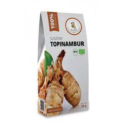 Topinambur suszony bio 20 g - puffins wyprodukowany przez Puffins (owoce suszone próżniowo)