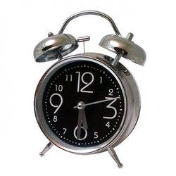 Super cichy budzik metalowy z dzwonkami #1, ATB045B