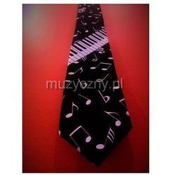 Zebra Music krawat muzyczny, czarny - produkt z kategorii- Gadżety