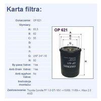 Filtr oleju OP 621 - produkt z kategorii- Filtry oleju