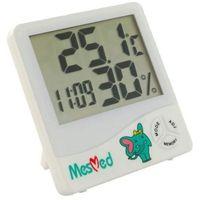 wilgotnościomierz z funkcją termometru i zegara mm 777 od producenta Mesmed