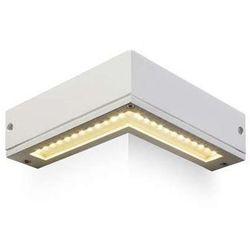 Kinkiet LAMPA ścienna COIN R10347 Redlux narożnikowa OPRAWA metalowa LED zewnętrzna do ogrodu IP54 outdoor biały - sprawdź w wybranym sklepie