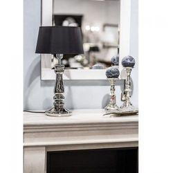Petit Trianon Transparent Black Nocna 4Concepts L051361262 56cm czarny srebrny
