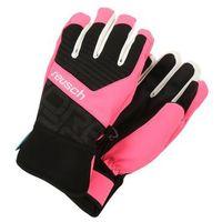 Reusch TORBENIUS Rękawiczki pięciopalcowe black/knockout pink (4050205529772)