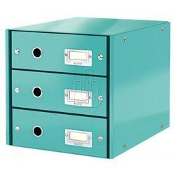 Leitz Pojemnik click&store z 3 szufladami turkusowy 604800