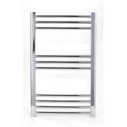 Grzejnik łazienkowy ECO York - wykończenie proste, 500x800, owany
