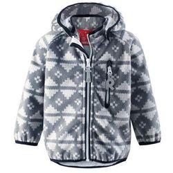 Bluza z wiatorszczelnego polaru Reima Aie windstopper szara - produkt z kategorii- Pozostała moda i styl