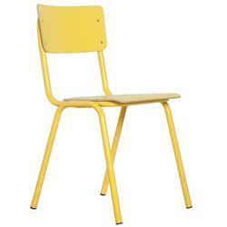 Zuiver Krzesło BACK TO SCHOOL HPL żółte 1008203, 1008203