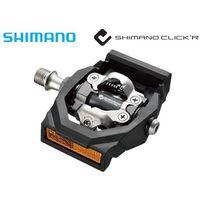EPDT700 Pedały Shimano SPD Click'r PD-T700 + bloki i odblaski (4524667561033)