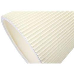 King home Kinkiet rayon arm wall biały - led, klosz z tkaniny