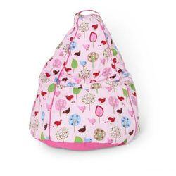 Siedzisko dziecięce - różowe w ptaszki  marki Penny scallan
