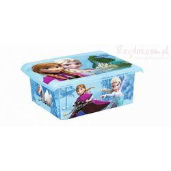 Keeeper Pudełko 10l frozen kraina lodu 2726 pojemnik na zabawki