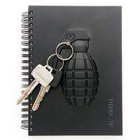Gadget master Militarny notes - granat - granat