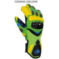 Męskie rękawice narciarskie  racing spectrum zielone 8 marki Viking