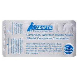 Ceva sante animale Adaptil doraźny relaks - tabletki uspokajające dla psów, kategoria: witaminy dla kotów