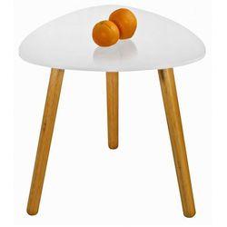 Skandynawski stolik kawowy Sapira - biały połysk, V-CH-SUMMER_1-LAW