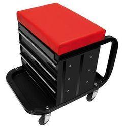 Proplus mobilny wózek narzędziowy z siedziskiem 580526