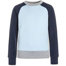 adidas Performance ATHLETICS Bluza medium grey heather/ice blue/collegiate navy z kategorii Bluzy dla dzieci