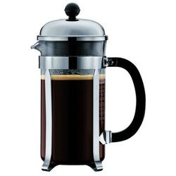 Zaparzacz do kawy chambord, 8 fliliżanek, 1.00 l, chrom - 1,00 l marki Bodum