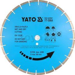 Tarcza diamentowa do kamienia 400x25.4 mm / YT-5965 / YATO - ZYSKAJ RABAT 30 ZŁ