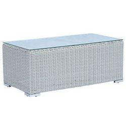 Miloo :: stolik ogrodowy madera 100x50x40 cm - 40 x 100 x 50 cm